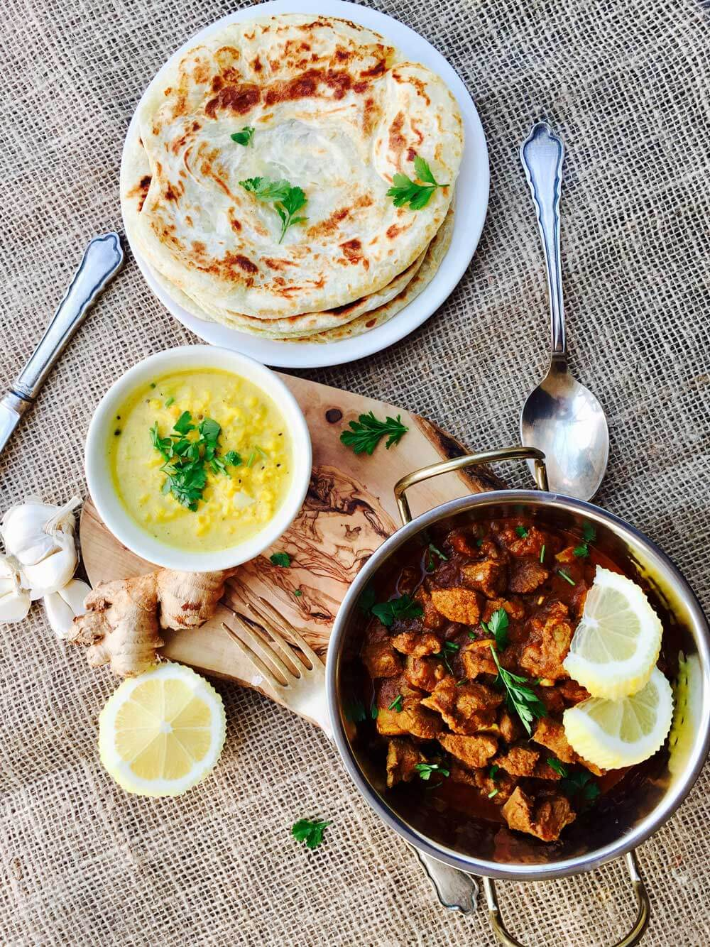 Delicious and super healthy Lamb Curry