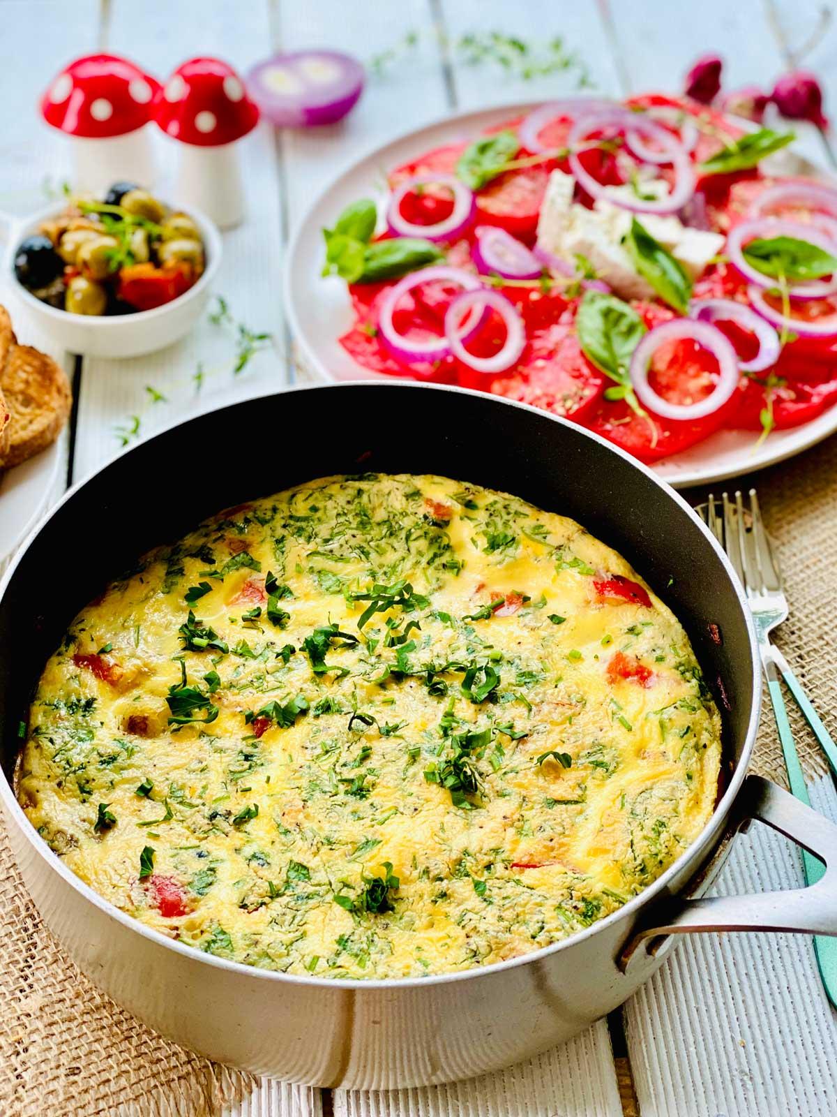 Spanish Omelette In Pot