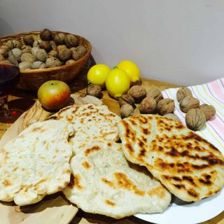 Home made flat breads