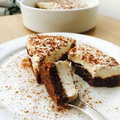 Mascarpone tiramisu dessert