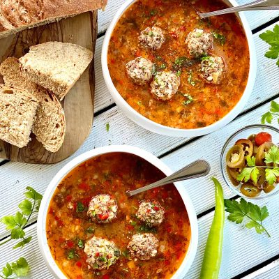 Grandma's meatball soup Recipe