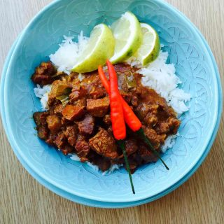 Try this ox tongue curry, a simple to prepare, inexpensive and spicy treat, with subtle texture and distinct flavors.