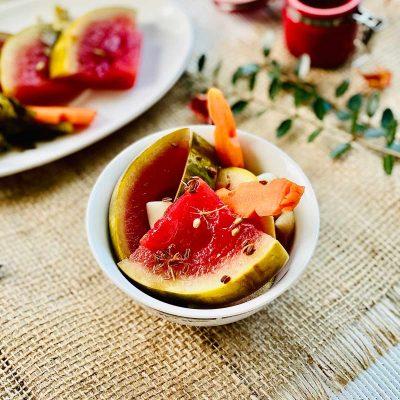 Pickled Watermelon Recipe