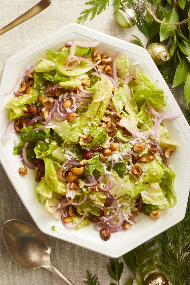 romaine salad lemon pecorino vinaigrette