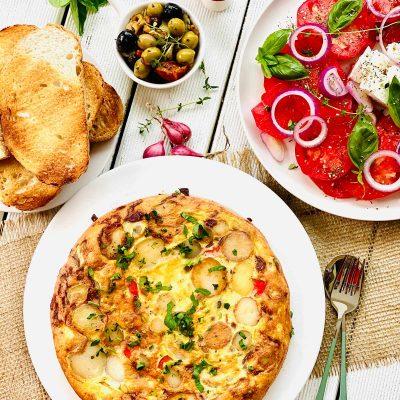 Easy Spanish Omelette (Spanish Tortilla)