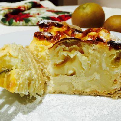 Turmeric savoury feta cheesecake